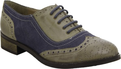 Hats Off Accessories Brogues Olive and Blue Corporate Casuals