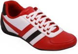 Stylos Casuals (Red, White)