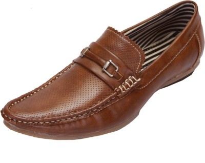 Shoebook Casual Brown Loafers(Brown)