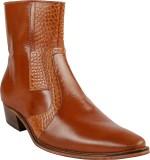 Shoe Bazar Boots (Tan)