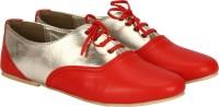 Sadana's Lace Up shoe(Red)