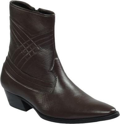 Shoe Bazar Leather Sole Boots