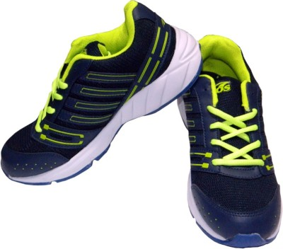 Ros 1081-R.BLUE-P.GREEN Walking Shoes