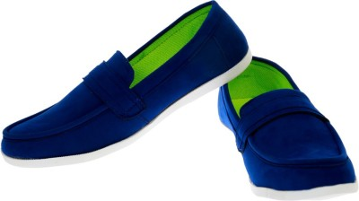 Ziesha Zms507blue Loafers Shoes