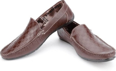 True Soles TCL200 Loafers(Brown)