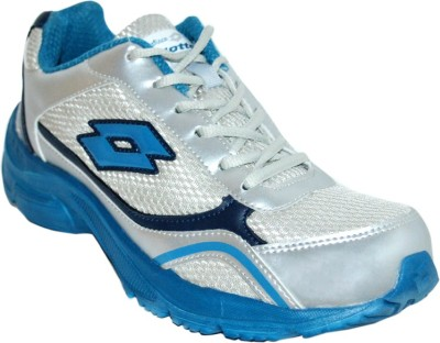 Lotto Tempo Running Shoes(Silver, Blue)