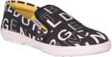 JK Port White & Black Men New Loafers (B...