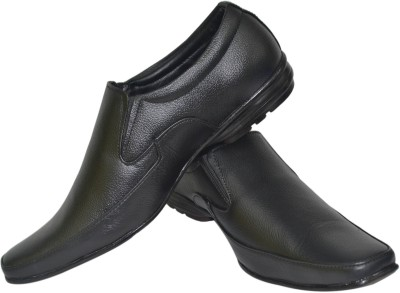 Human Steps Leather Slip On Shoes