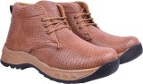 Andrew Scott Men Boots (Brown)