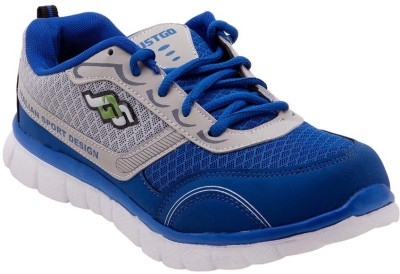 Just Go Men Imported Trendy Royal Blue Sport Running Shoes