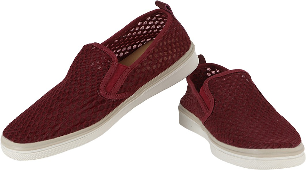 Spunk High Quality Loafers(Maroon)