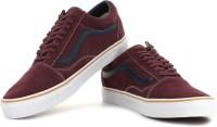 VANS Old Skool Men Sneakers(Maroon)