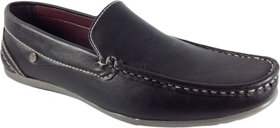 WBH K Walk Black Loafers