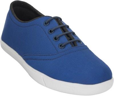 Advin England Blue Lace Casual Shoes Canvas Shoes