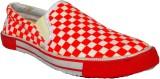 Venue Canvas Shoes (Red)