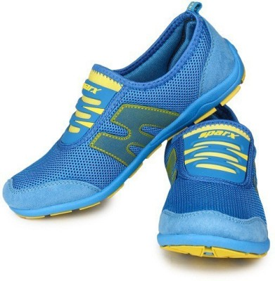 Sparx Running Shoes(Blue, Yellow)