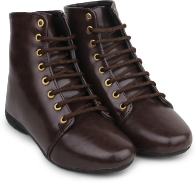 Shoetopia Boots(Brown)