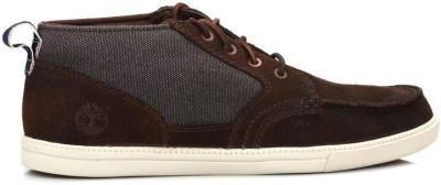 Timberland Mens Brown & Denim Fulk Chukka Boots Casual Shoes