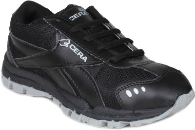 Histeria Cera Black & Silver Running Shoes