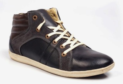 VEBERO Hip Hop High Ankle Boots Sneakers