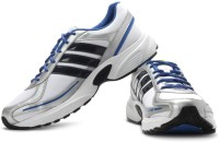 Adidas Dario M Running Shoes(White, Silver, Navy, Blue)