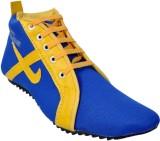 Huggati Casual Shoes (Blue, Green)