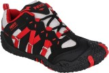 Pasco Running Shoes (Black, Red)
