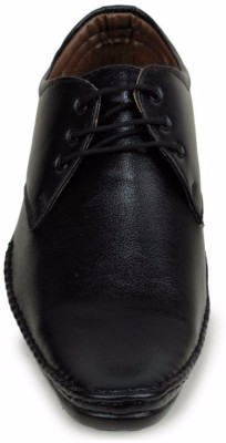 M-Toes M- Toes MT1036 Black Men Formal Shoes Slip On