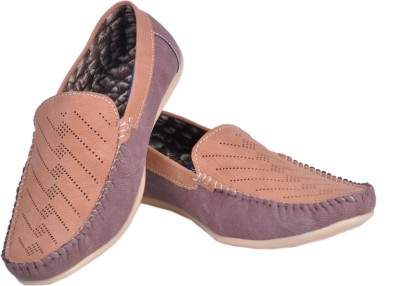 Shoebook Shoebook Ruff Tan with Cheeku Matching Slip On shoes Loafers