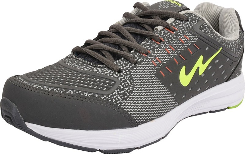 Campus KNIT TECH Running ShoesGrey Green SHOEGZCB7GC6SFBQ