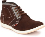 John Karsun Leather Boots (Brown)