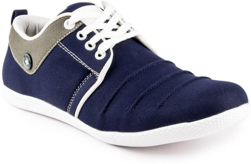 Big Wing Trendy Blue Sneakers(Blue)