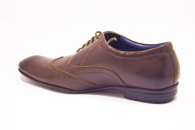 Molessi Brown Lace Up Shoes