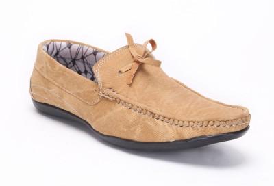 Quarks Beige Boat Shoes