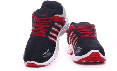 Aerostone ARS-PLAYER-4-BLACK-RED Running Shoes