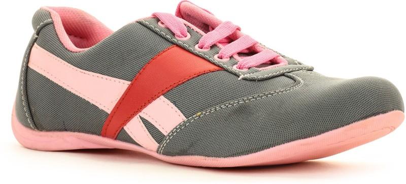 Select Grey Sporty Walking Shoes(Grey)