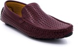 Belle Gambe Elegant Loafers (Red)