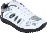 Bersache WHITE-339 Running Shoes (White)