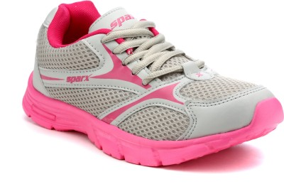Sparx 510 Running Shoes(Grey, Pink)
