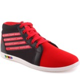 Wepro C4 Red Jonson Casual Shoes (Red)