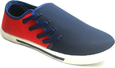 TerraVulc Red and Blue Canvas Shoes