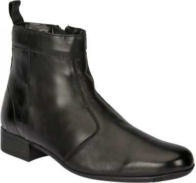Black Pony Casual Boots