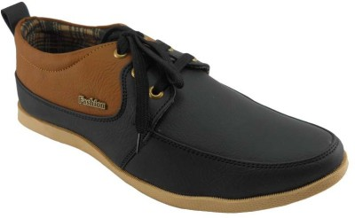 B3trendz Low Ankle Black Casual Shoes