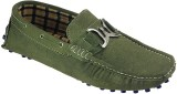 Dziner Casual Loafers (Olive)