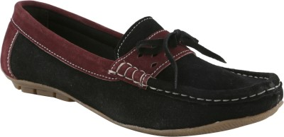 Ncollections Black Boat Shoes
