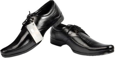 NY Eagle Black Formal Corpo Lace Up