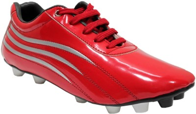 Snappy Red Football Shoes