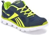 Boysons Running Shoes (Navy, Green)