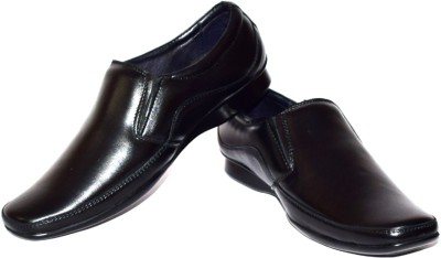 Black Gazelles Slip On