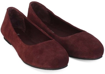 Brune Suede Leather Bellies